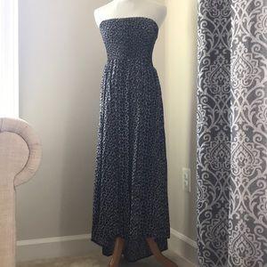 Cotton On NWT black leopard print tube dress